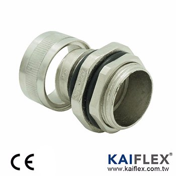 (AS) FLEXIBLE METAL CONDUIT FITTING-Water Proof (Square-lock)