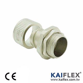 Flexible Metal Conduit Fitting - Low Fire Hazard