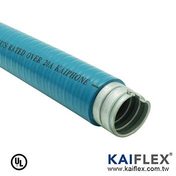 LIQUID TIGHT FLEXIBLE METAL CONDUIT (Computer Blue)