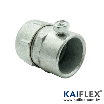 LIQUID TIGHT FLEXIBLE METAL CONDUIT FITTING (S52)-EMT Connector