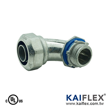 LIQUID TIGHT FLEXIBLE METAL CONDUIT FITTING (S53)-Elbow Type