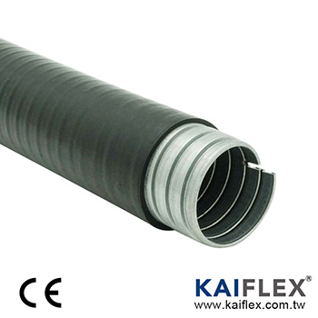 Flexible Metal Conduit, Interlocked Gal, PE Jacket