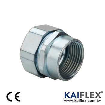 Liquid Tight Metal Conduit Fitting, Straight Type, Female Threaded