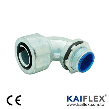 Liquid Tight Conduit Fitting, Elbow Type, Male Threaded