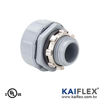 Liquid Tight Non-Metallic Flexible Conduit Fitting, Straight Type