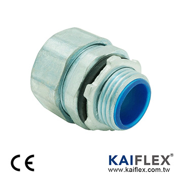Flexible Metal Conduit Fitting - Water + EMC Proof